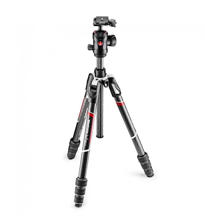Manfrotto Befree GT Carbon fibre Tripod twist lock, ball head