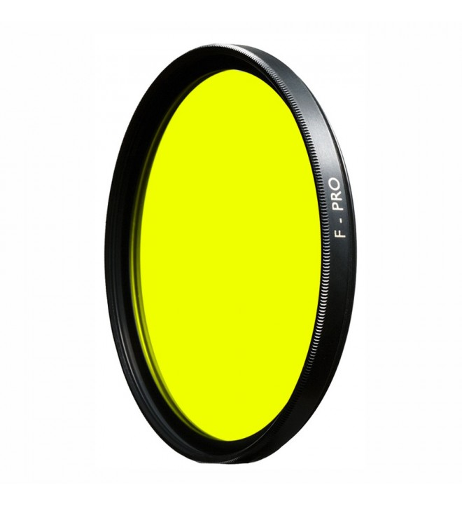 B+W F-Pro 022 Yellow Filter light 495 MRC