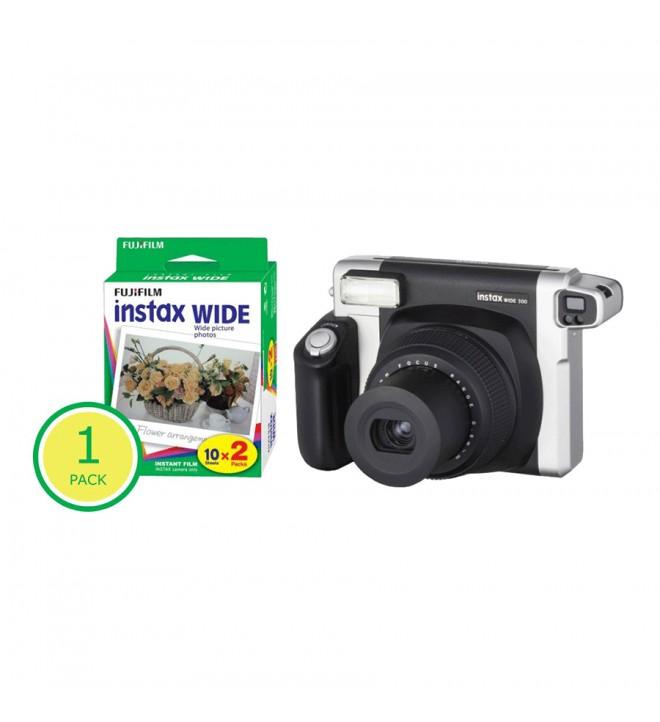 Polaroidni fotoaparat Fuji Instax WIDE 300 + paket Instax Wide film (20 kos)