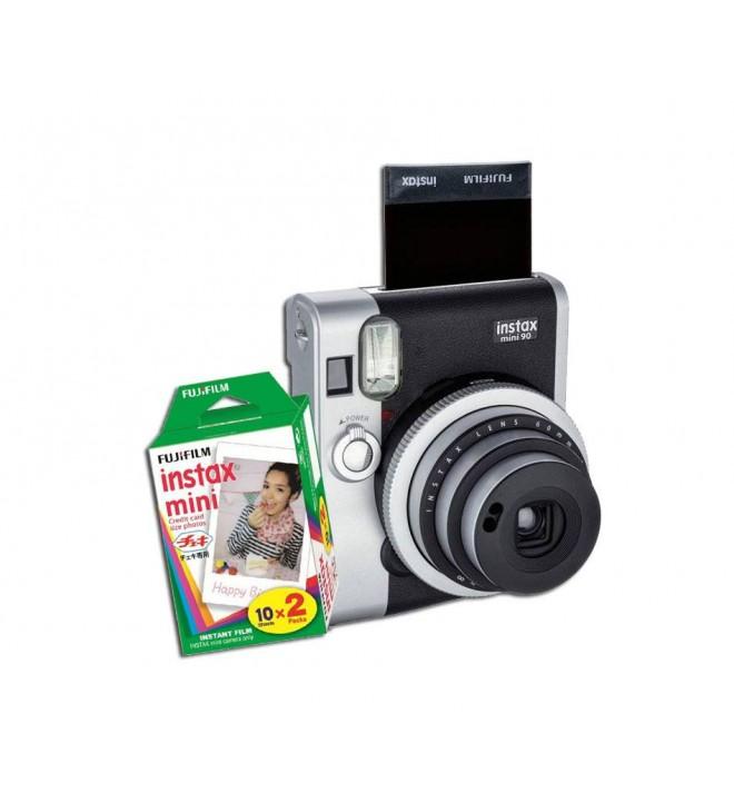 Polaroidni fotoaparat Fuji Mini Instax 90 NEO CLASSIC + paket Instax Mini - 20 listov