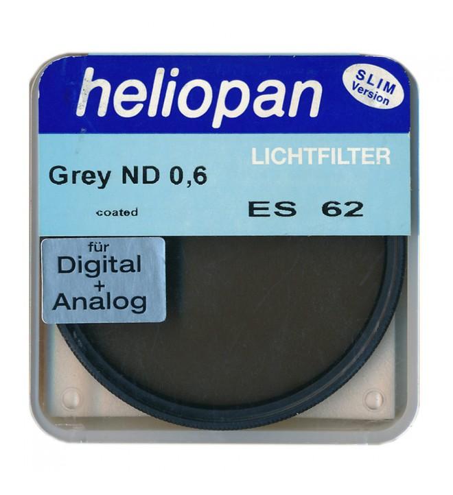 Heliopan Neutral Density 0,6 ES 62mm Slim