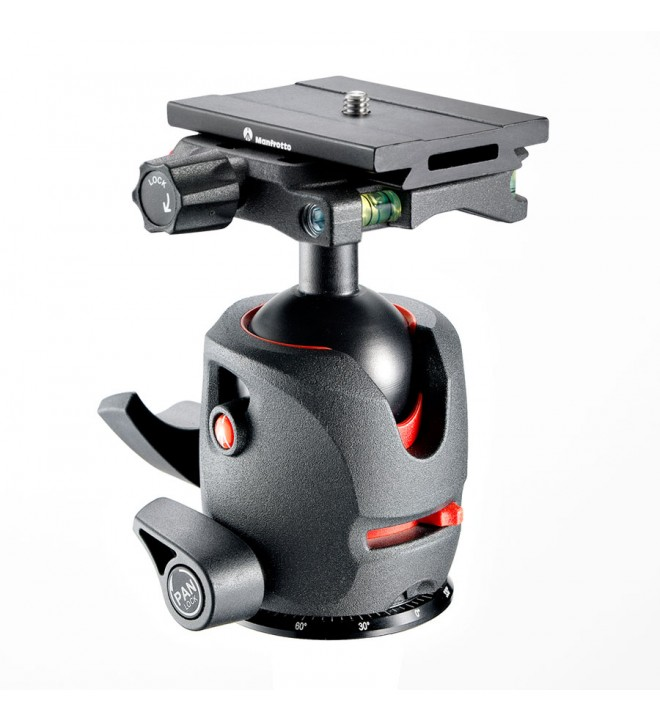 Manfrotto 054 magnesium ball head with Q6 Top Lock quick release