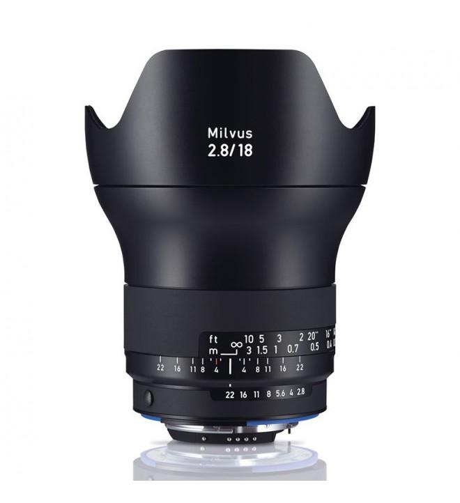 ZEISS Milvus 2.8/18 ZF.2 Nikon
