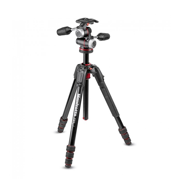 Manfrotto 190go! MS Alu Tripod kit 4-Sekcije + XPRO 3-way glava