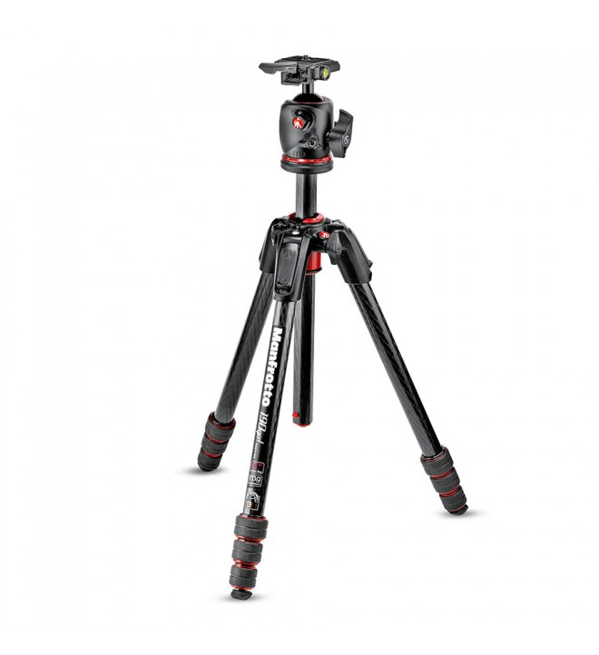 Manfrotto 190go! MS Carbon Tripod kit 4-Sekcije + XPRO BHQ2 glava